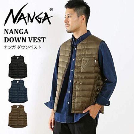 ナンガのダウンジャケット