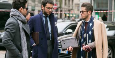 【30代・40代のビジネスマン必見!】スーツにマフラーをお洒落に合わせる5つのポイント!